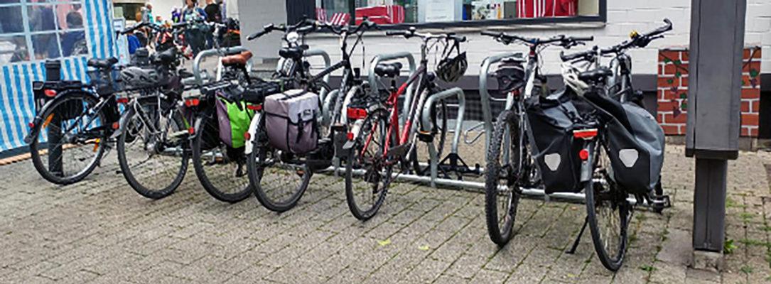 Fahrradständer in Ohligs