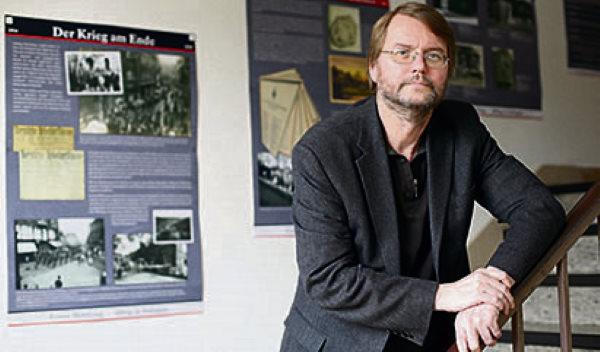 Ralf Rogge ist Leiter des Stadtarchivs