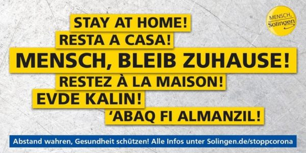Bleib zuhause